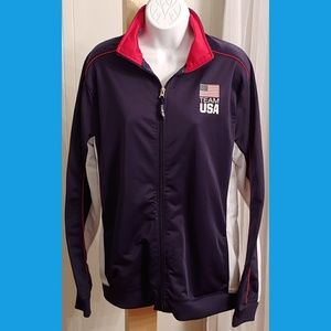 Team USA Olympic Track Full Zip Track Jacket